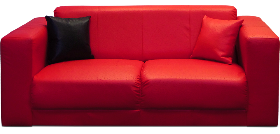 Red Couch home